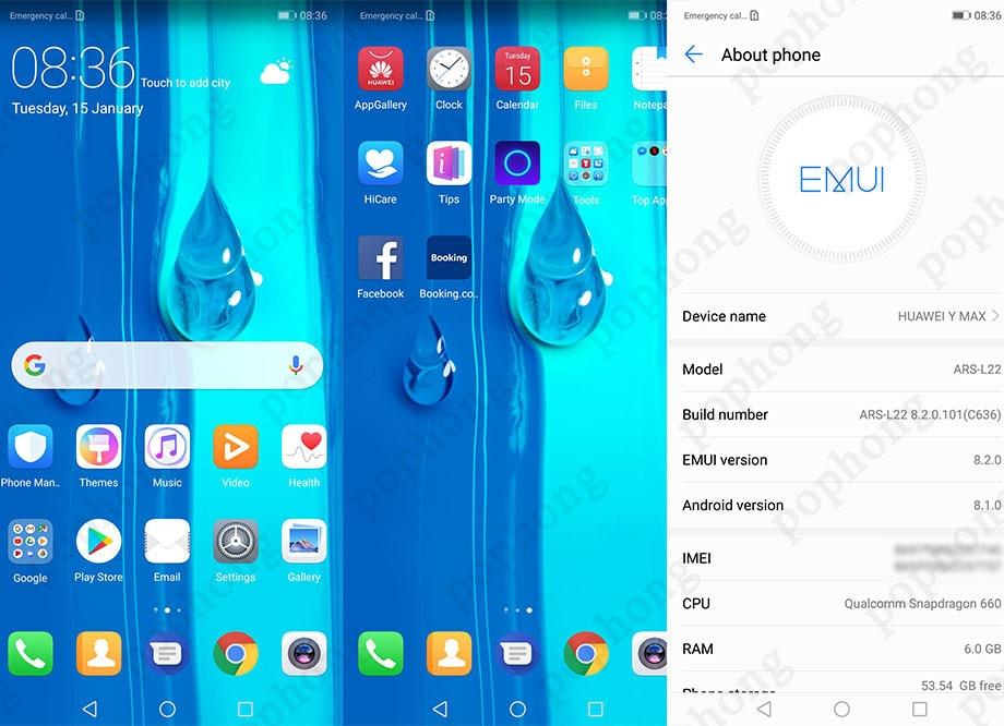 Huawei Honor 8X Max 7 12'' Mobile Phone Big Screen