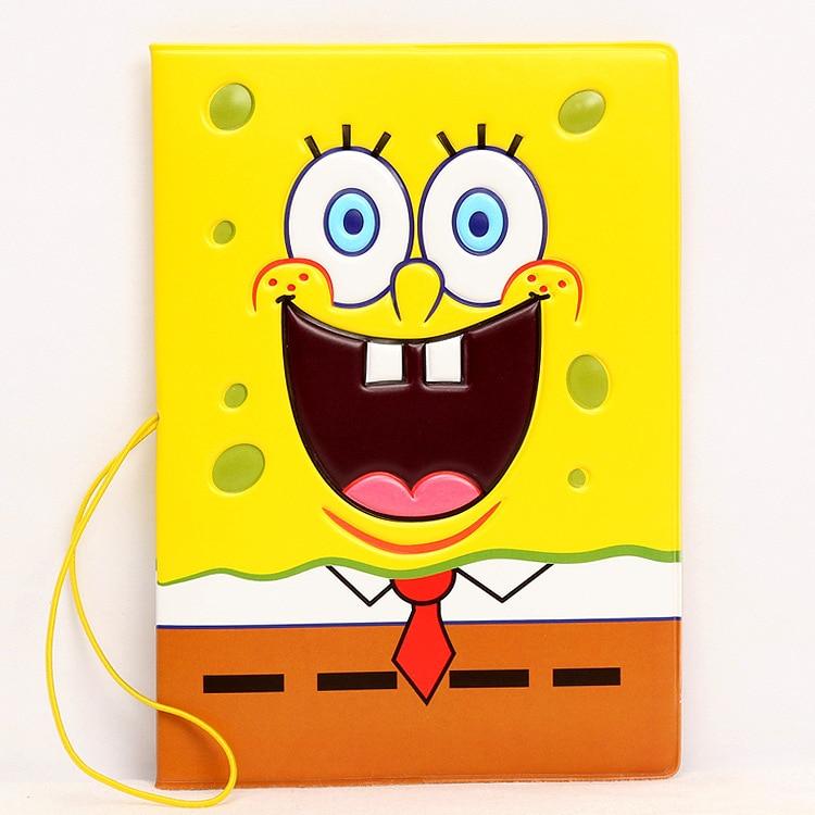 Hot Overseas Travel Accessories Passport Cover, Luggage Accessories Passport Card-Spongebob Squarepants
