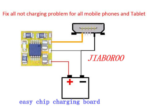 5pcs/lot Easy Chip Charging Board Fix All Charger Problem  All Mobile Phones & Tablets Pcb&ic Problem Not Charger Good Working