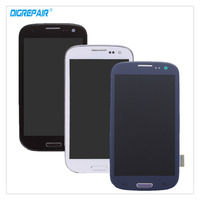 100% Nova Preto/Branco/Azul Para Samsung Galaxy S3 i9305 Lcd Digitador Toque Reparação Assembléia Tela de Substituição peças + Quadro