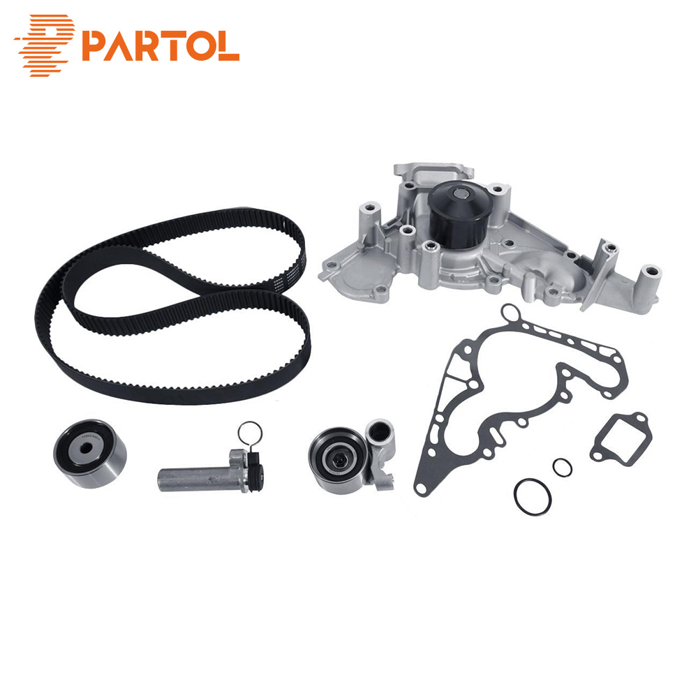 Partol Timing Belt Water Pump Kit for Lexus GS430 2001 2007 for Toyota Tundra 2000 2009 for Toyota Sequoia 2001 2009
