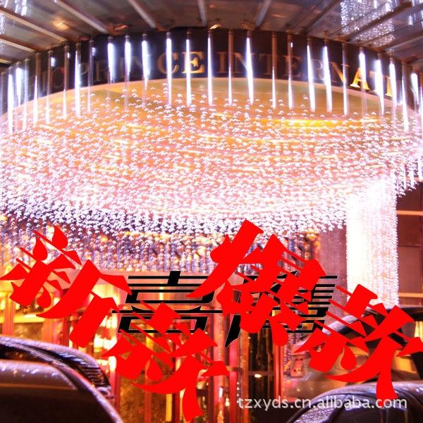 Свадебные принадлежности оптовая свадебный отель украшения 60 см полые Двусторонняя светодиодный метеорный поток метеоров огни