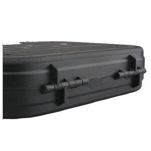 Image 3 - אמרסון גלוק ABS אקדח מקרה טקטי קשיח אקדח הילוך תיבת צעצוע אקדח מקרה עם מרופד קצף רירית עבור Airsoft ציד אבזר