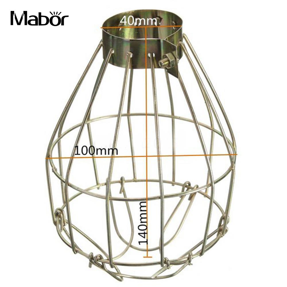 Lamp cover lamp shade 10 14cm iron safe vintage removable home lamp cover lamp shade 10 14cm iron safe vintage removable home room decor indoor decoration reptile supply lighting parts in lamp covers shades from aloadofball Choice Image