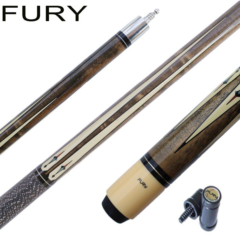58inch19oz original FURY DL6 marple billiard cues free