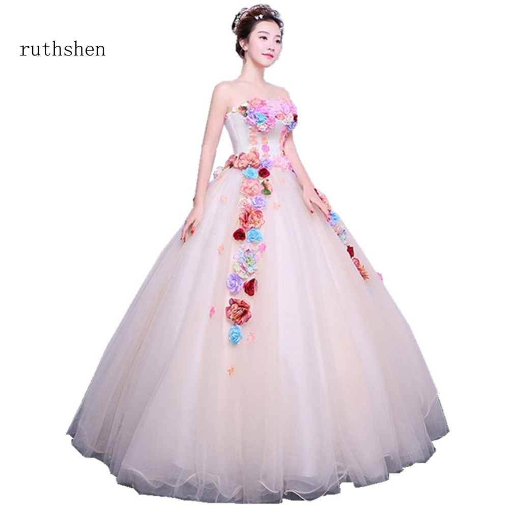 ruthshen Quinceanera Dresses Sexy Strapless Sweet 16 Masquerade Ball Gowns  Cheap 2018 Debutante Prom Dresses For Special Events-in Quinceanera Dresses  from ... 561e26adec14