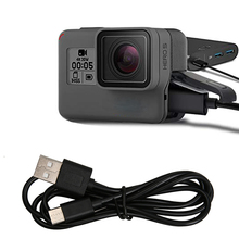 Gopro Hero 5 6 7 Accessories Black Camera Charging Usb Cable Line Data Sync Transfer for Hero5 Action Sport