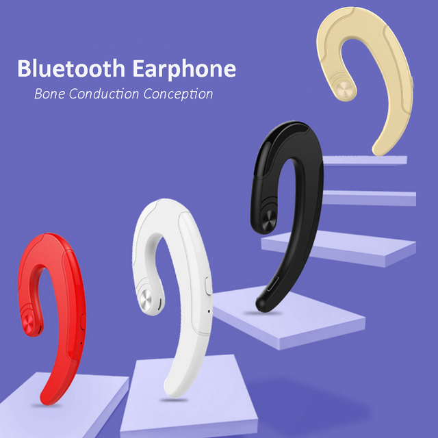 The Hook Earphone Bluetooth Microphone + Headset for iPhone/Android