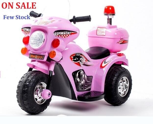 В продаже! 11,11 цена 75 день новый детский Электрический Автомобиль Мотоцикл трехколесный велосипед детская коляска полицейский игрушечный а...