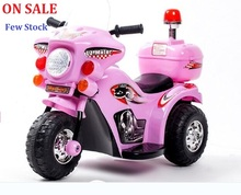 ON SALE!! 11.11 Price 75 Day The new children electric car motorcycle  tricycle baby stroller police toy car