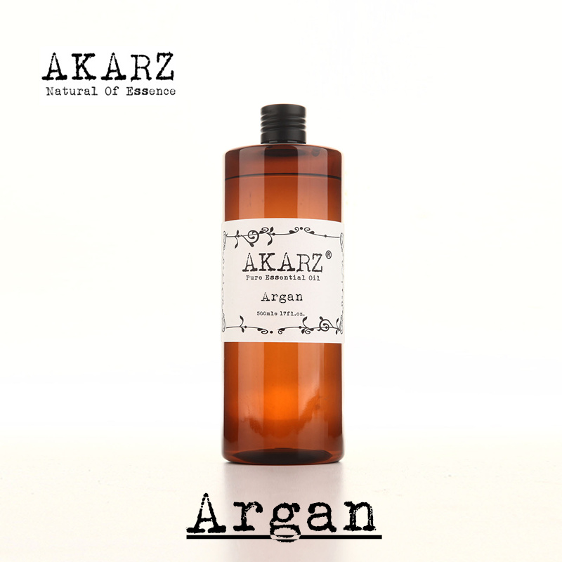 AKARZ Famous brand natural Argan Morocco nut oil essential oil natural aromatherapy highcapacity skin body care massage spa