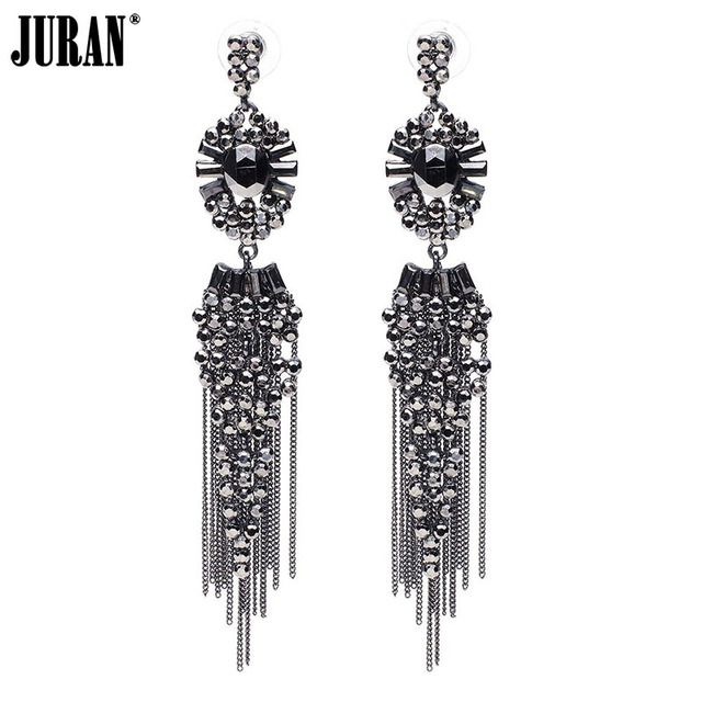 e7e1dd3873 US $3.35 35% OFF|Brincos New Z design Free shipping Trend fashion dangle  earrings vintage long chain tassel statement drop Earrings for women-in  Drop ...