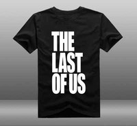 New Game The Last of Us T-shirt Cosplay Anime Filme The Last of Us 2 T-shirt de Algodão de Verão de Manga Curta Tees