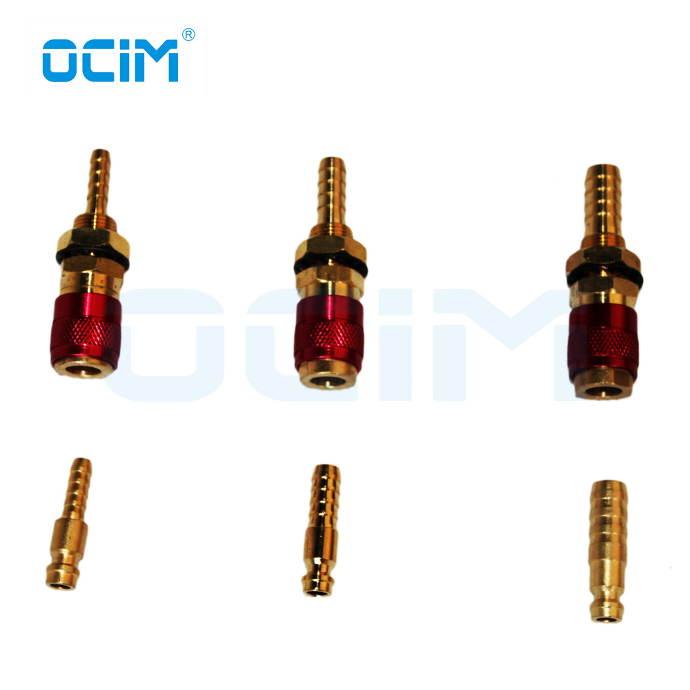 Quick Connectors,2pcs 8mm Water Cooled /& Gas Adapter Quick Connector Fitting for TIG Welding Torch
