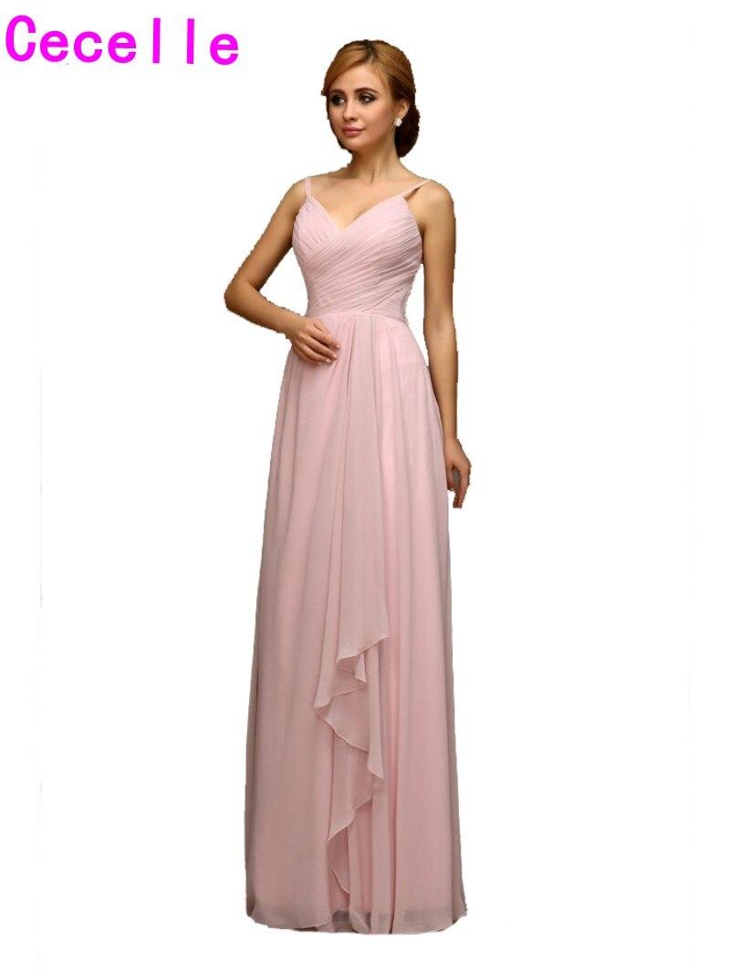 f4070bcd4afa Beach Bridesmaid Dresses Blush