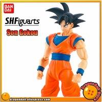 SALE Japan Anime DRAGONBALL Dragon Ball Z Original BANDAI Tamashii Nations S.H.Figuarts SHF Exclusive Action Figure Son Goku