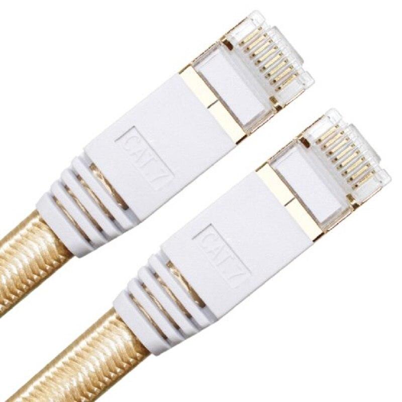Cat 7 RJ45 Shielded Pure copper LAN Network Ethernet Cable Internet Cord 0.3m 0.5m 1m 1.5m 2m 3m 5m 10m 15m 20m