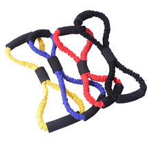 Fitness Gum  Women puller Elastic Band Rope Latex Rubber Arm Resistance Exercise Pilates Yoga Gym Bands