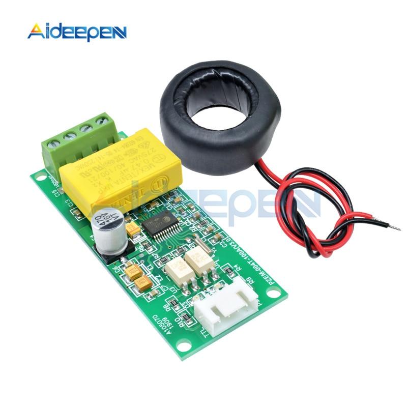 Многофункциональный цифровой измеритель переменного тока 0-260 А, 80-в, ватт, вольт, ампер, МОДУЛЬ тестирования тока PZEM-004T для Arduino TTL COM2 \ COM3 \ COM4