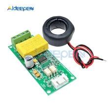 Medidor digital multifuncional ac 0-100a 80-260v, módulo de teste, voltímetro e corrente PZEM-004T para arduino ttl com2/com3/com4
