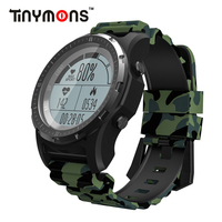 Tinymons S966 Smart Watch GPS Compass Speedometer Bracelet Sport Wristwatch Heart Rate Monitor Multi sport fitness tracker Band