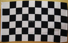 Black And White Checkered Flag 3′ X 5′ Deluxe Indoor Outdoor Racing Banner Flag
