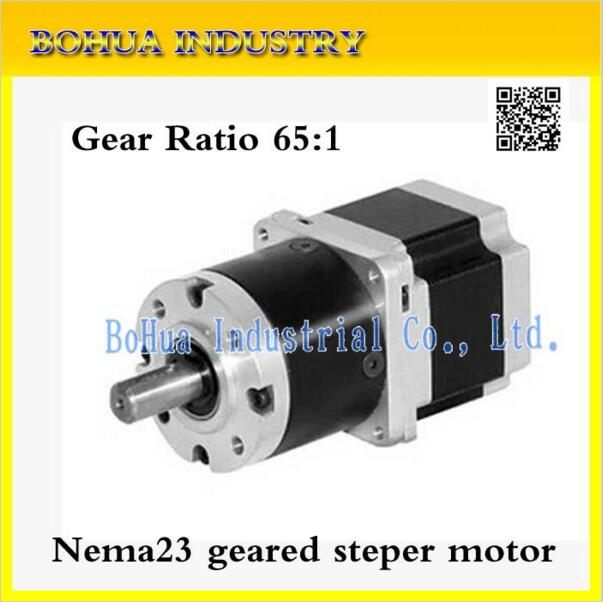 New Best Gear Ratio 65 1 Planetary Gearbox Stepper Motor