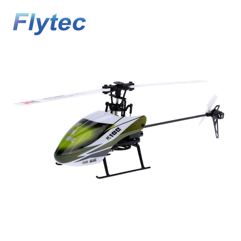 XK K100 Falcom 6CH Flybarless 3D 6G System RC Helicopter Compatible with FUTABA S-FHSS BNF