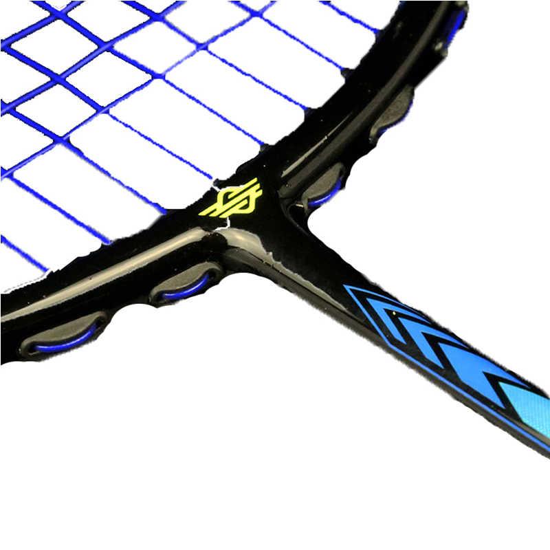 Badminton Racket 7U String Ultralight Carbon With Carry Bag Offensive Defensive 2 Pcs Badminton Racquet Raquete Sport Equipment