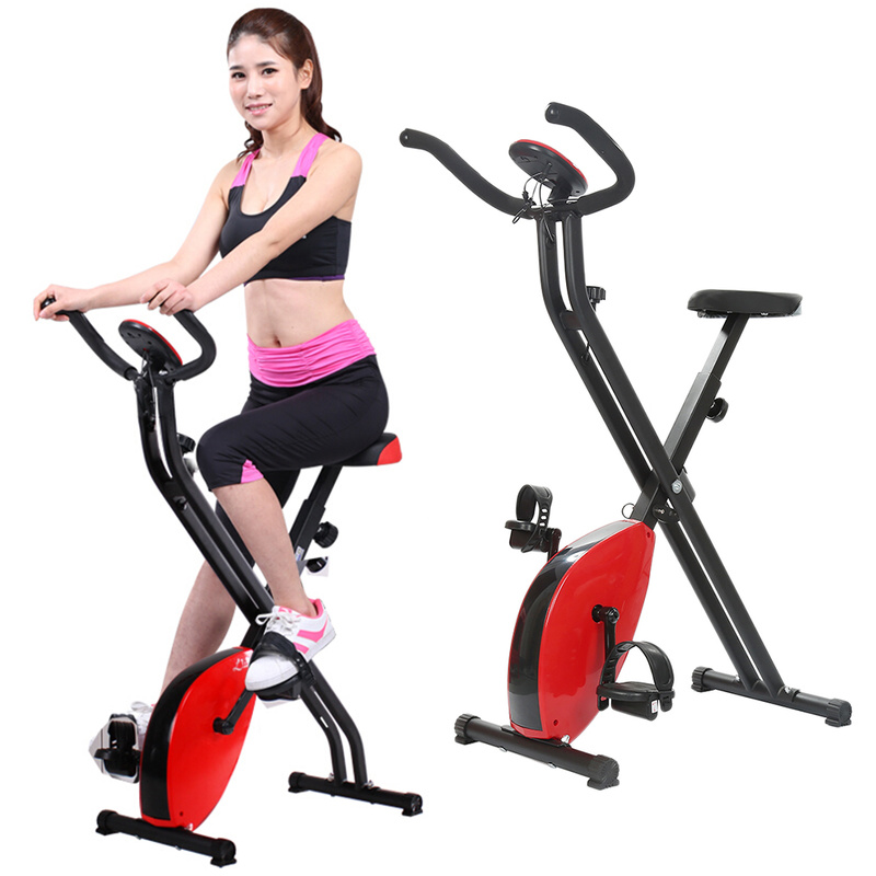 X-type fitness exercise bike aerobics exercise trainer bicycle muscle strength trainer MTB bicycle wheel home gym equipment HWC