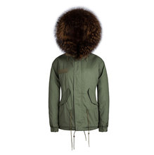 handsome men waistcoat wear winter jacket male parkas faux fur