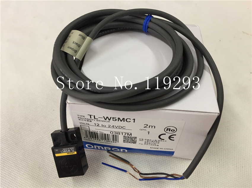 [ZOB] 100% new original OMRON Omron proximity switch TL-W5MC1 2M  --5PCS/LOT dhl ems 5 sests new for omron proximity switch e2g m18kn10 ws b1