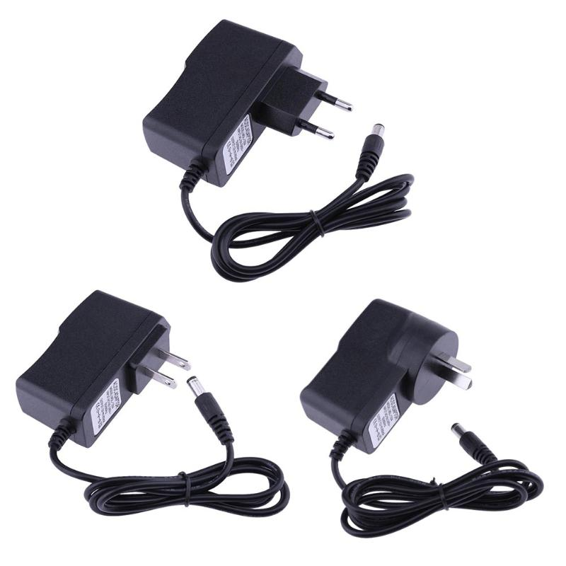 12V 400mA AC/DC Power Adapter Converter Power Supply Wall Plug Charger Adaptor For Wireless Microphone EU US AU Plug 5.5x2.5mm