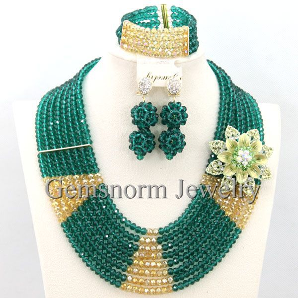Charms African Beaded Jewelry Set Costume African Jewelry Sets  New Dubai Jewelry Set Free shipping WB113Charms African Beaded Jewelry Set Costume African Jewelry Sets  New Dubai Jewelry Set Free shipping WB113
