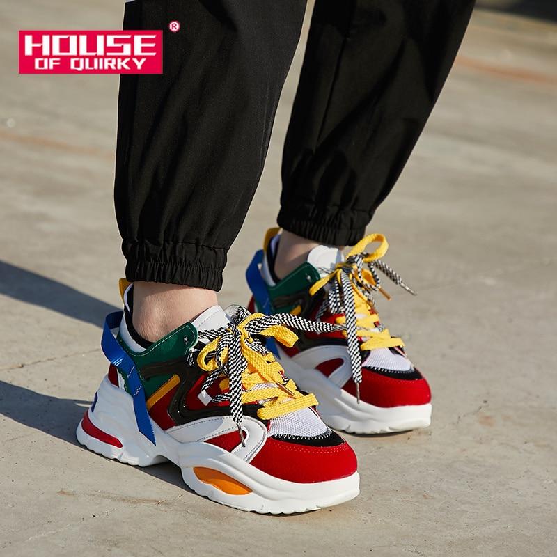 Sports Shoes Casual Platform Lace up