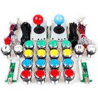 Classic Arcade DIY Kit Part USB Encoder To PC Games 5 Pin 8 Way Joystick 16
