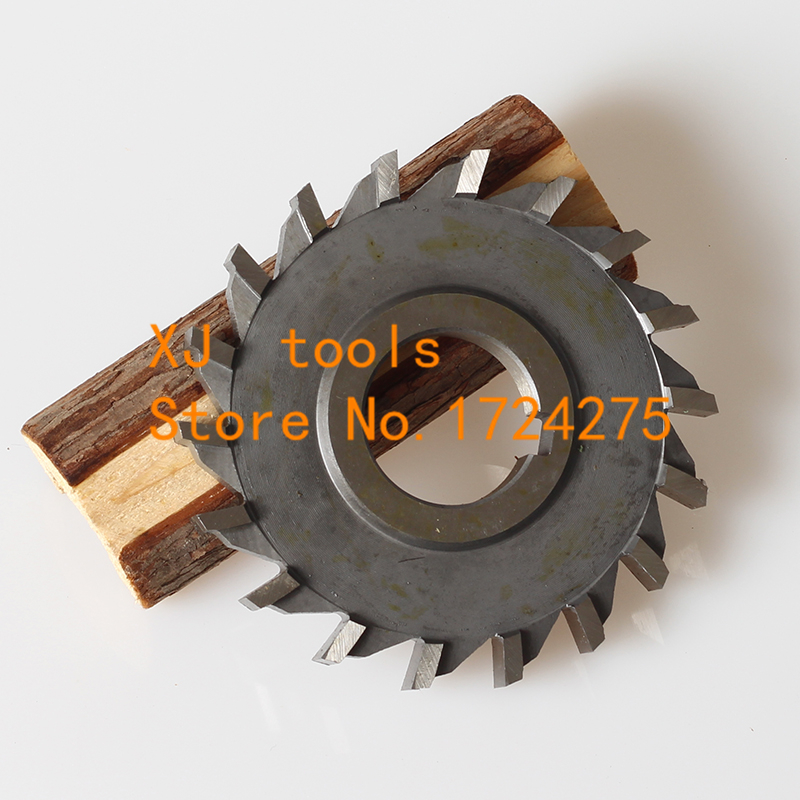 1PCS 150*6*8*10*12*14 HSS three straight tooth blade cutter, high speed steel Slot milling cutter , milling cutter