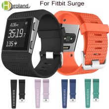 sport silicone replacement wristband For Fitbit Surge Strap Watch Bands Smart adjustment Wristband Bracelet fashion accessories