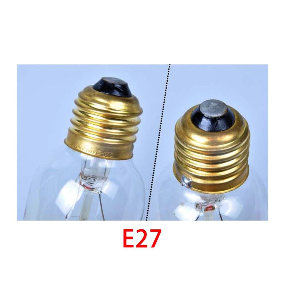 Halogen Bulbs Tubes retro vintage edison bulb e27 40w 220v ampoule vintage bulb edison lamp filament Incandescent light bulb led in LED Bulbs Tubes from Lights Lighting