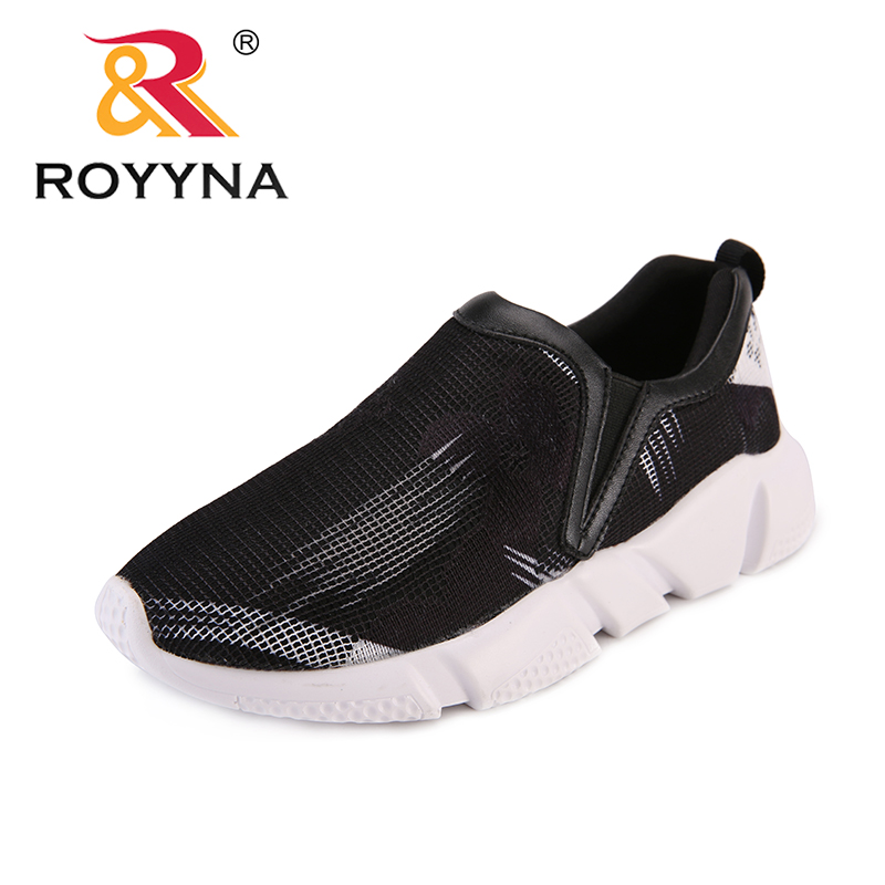 Royyna New Arrival Minimalist Design Women Sneakers Shoes Elastic Band Mesh Femme -2842