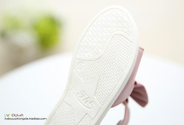 2018 Νέα άφιξη κορίτσια σανδάλια μόδα - Παιδικά παπούτσια - Φωτογραφία 6