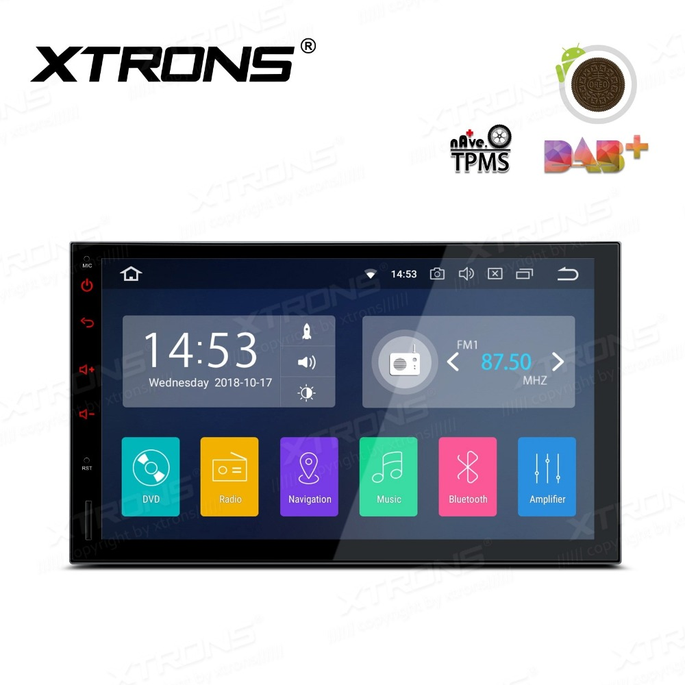 7 Android 8.1 Oreo OS Double Din Car Radio Two Din Car Multimedia 2 Din Car Navigation GPS with Full RCA Output Support image