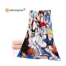 Custom Kurokos Basket полотенец s из микрофибры ткань популярное полотенце для лица/банное полотенце Размер 35 x75cm, 70x140 cm напечатать вашу картинку