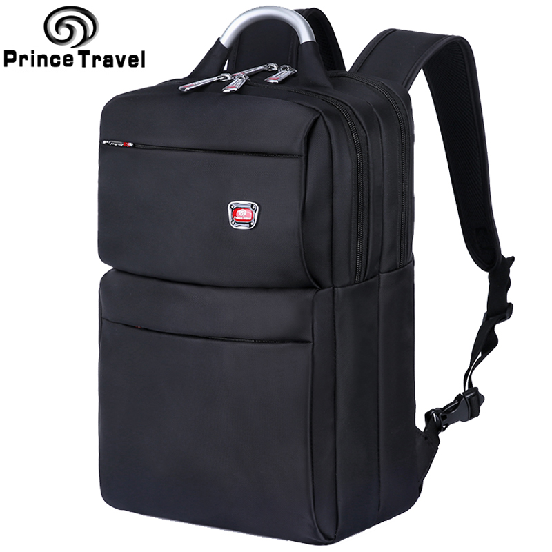 Prince Travel Men Laptop Backpack Bagpack Mochila Masculina 15 Inch Notebook Backpacks Men's Business Travel Bags Backpacks prince travel men s backpacks bolsa mochila for laptop 14 15 notebook computer bags men backpack school rucksack business