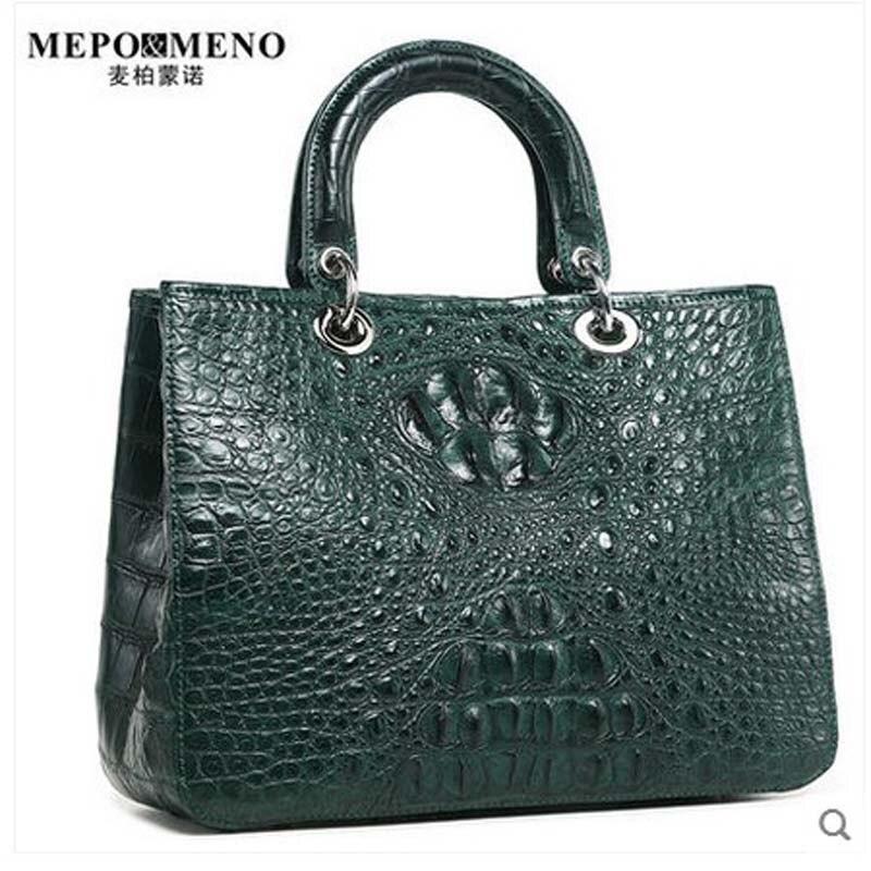 maibomengnuo Treasure Thailand nile crocodile leather women handbag ladies bag ladies handbag banquet bag стулья для салона thailand such as