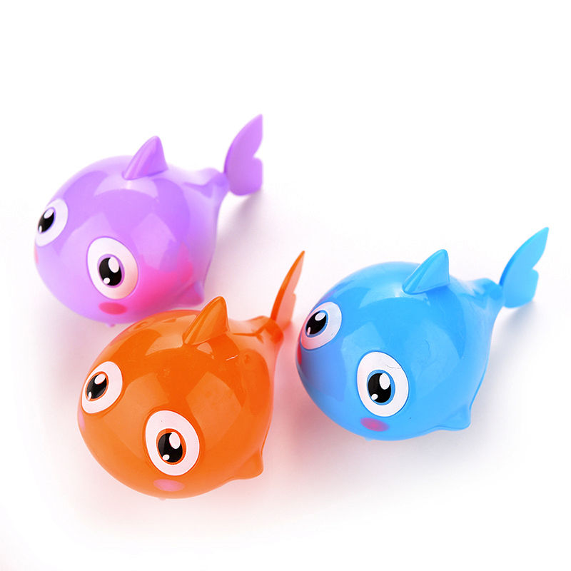 1PCS Hot Funny Baby Kids Bath Toy Clockwork Wind Up Plastic Swimming ...
