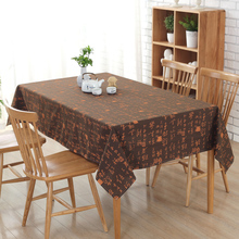 2017 Modern Simple Table Cloth Chinese character pattern Table Cloth Rectangular Wedding Decoration Tablecloth Toalha De Mesa