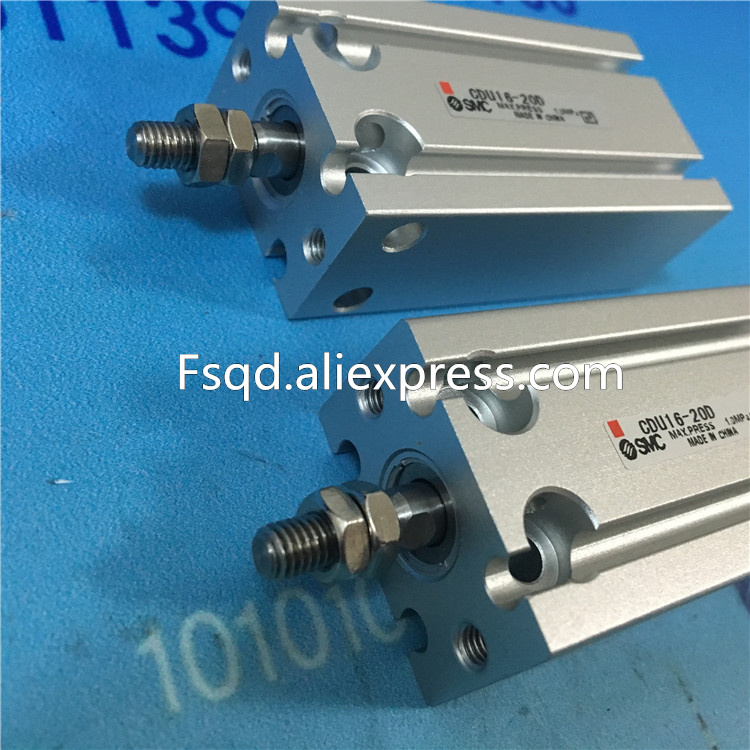 CDU16-40D CDU16-45D CDU16-50D  SMC Free mount cylinder Double Acting, Single Rod  CDU series , have stock cdj2b16 80 b cdj2b16 100 b cdj2b16 125 b smc air cylinder standard type double acting single rod cj2 series have stock