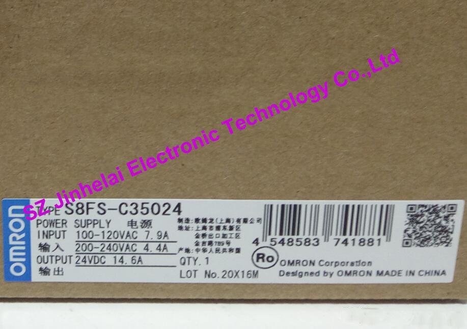 100%New and original S8FS-C35024 OMRON Switching power supply new and original s8fs c10012 omron switching power supply 100w 12v 8 5a alternative s8jc z10012c