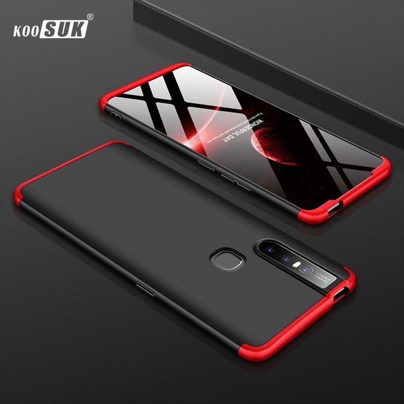 V15 Case For Vivo V15 Case Cover Luxury Full Protective Hard PC Original Phone Back Shell sFor VIVO S1 Cases Coque 6.53inch Case